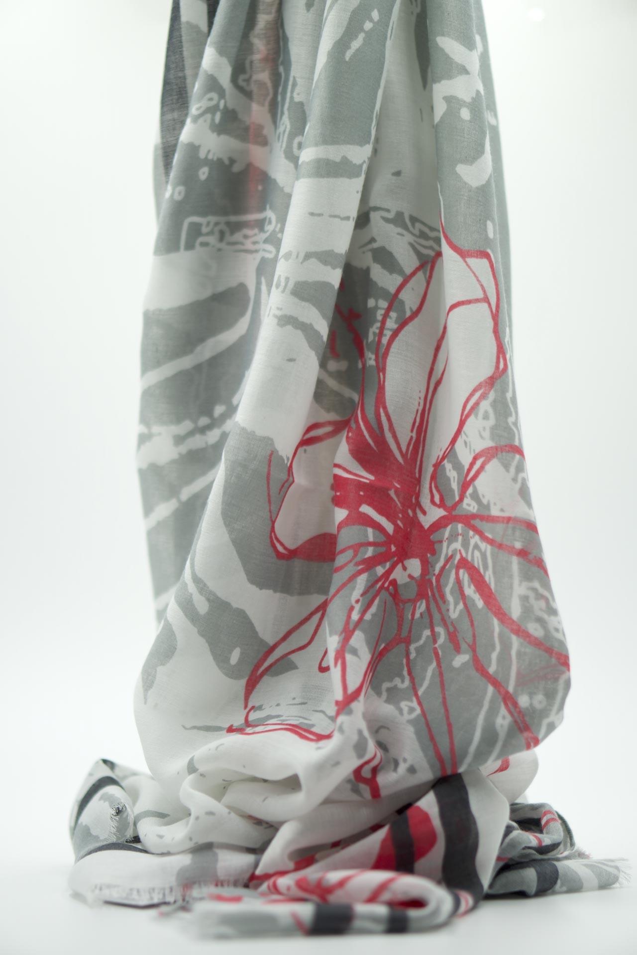 Dámský šátek FLOWER