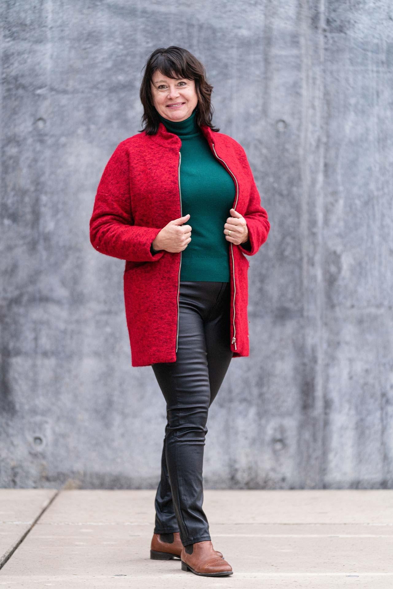 Dámský kabát MILI