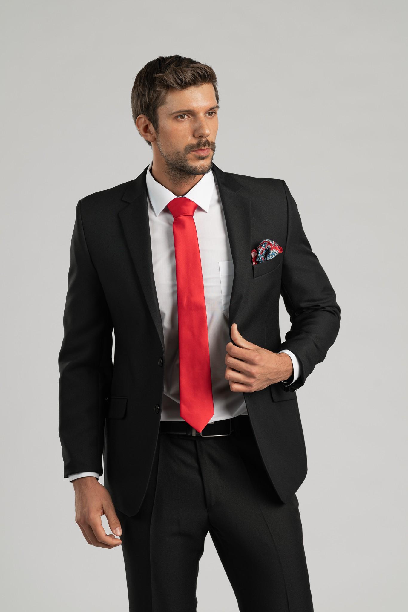 Pánský oblek - černý I