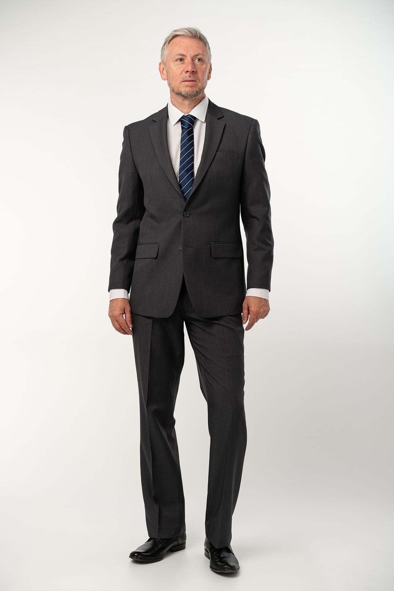 Pánský oblek - antracit