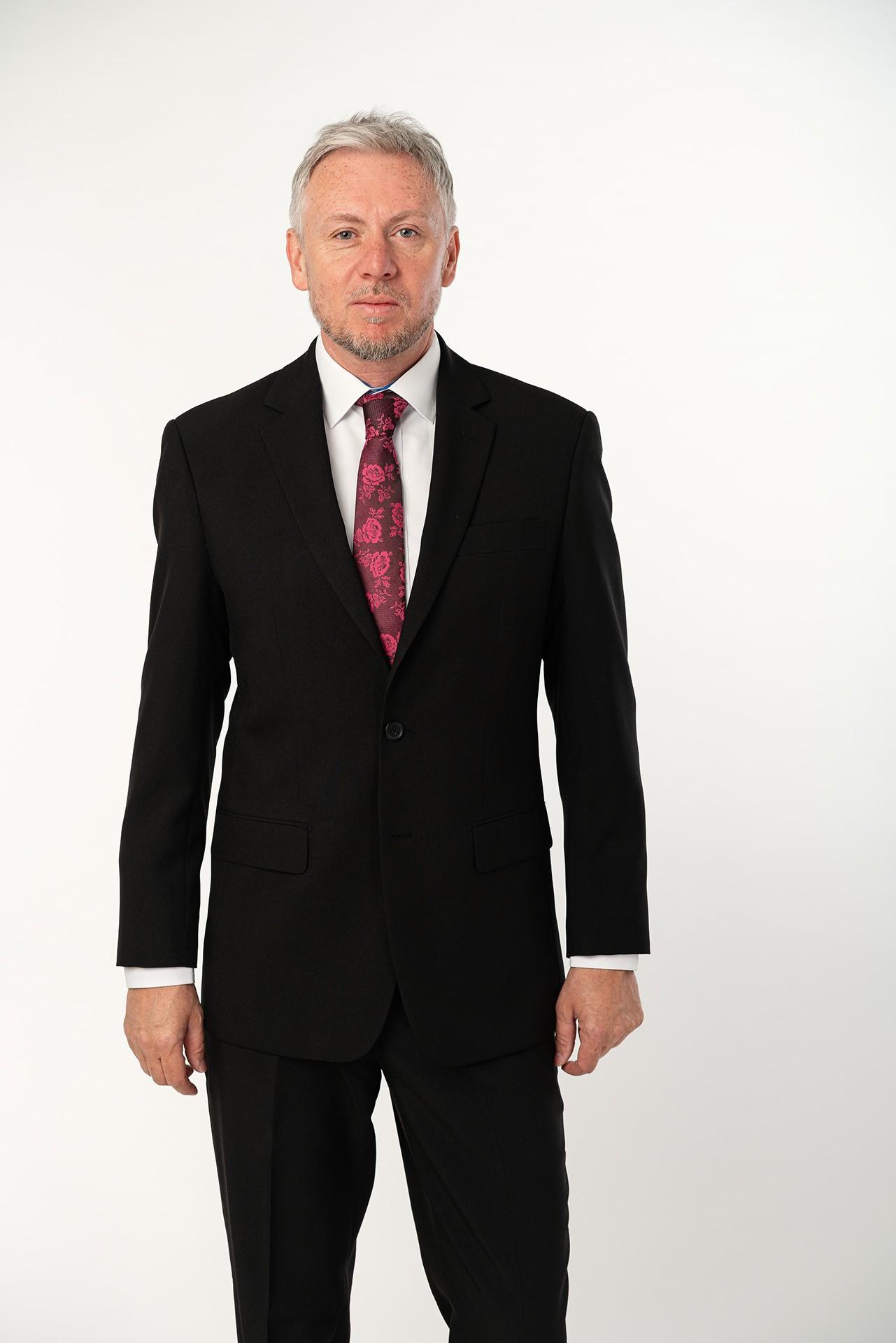 Pánský oblek - černý