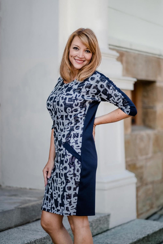 Dámské šaty BLU SCURO
